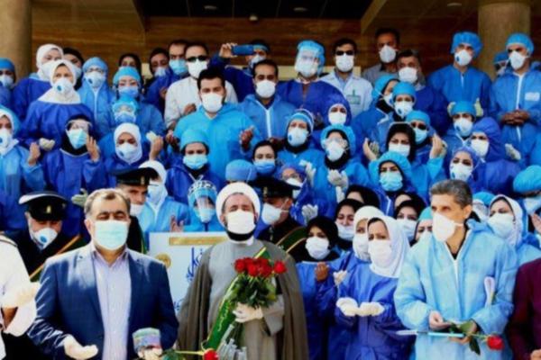 بازدید کاروان زیر سایه خورشید از بیمارستان امام خمینی(ره) اردبیل+تصاویر