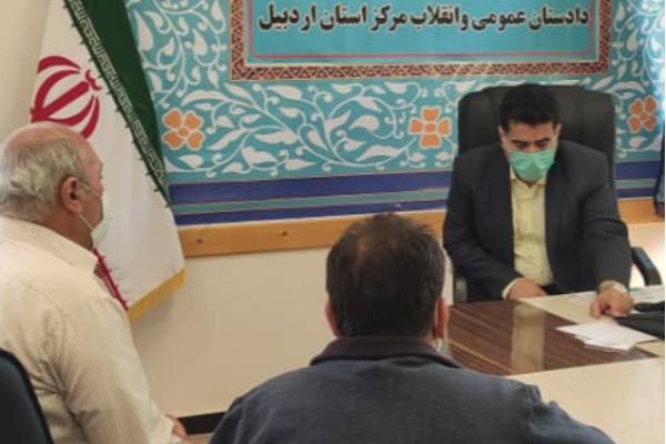 ملاقات مردمی دادستان مرکز استان + تصاویر