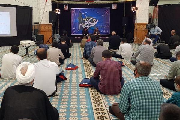 مراسم پر فیض دعای عرفه در مهدیه اردبیل + عکس